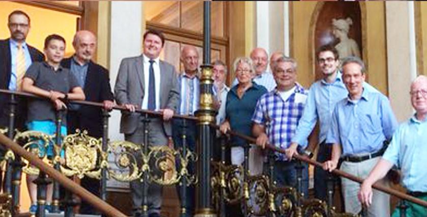 SPD Oestrich-Winkel besuchte Hessischen Landtag