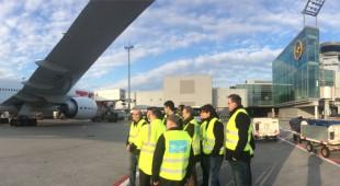 Marius Weiß lädt interessierte Bürgerinnen und Bürger an den Frankfurter Flughafen ein