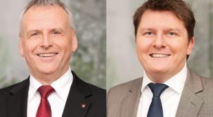 Marius Weiß und Ernst-Ewald Roth zu Gast bei der SPD Hünstetten